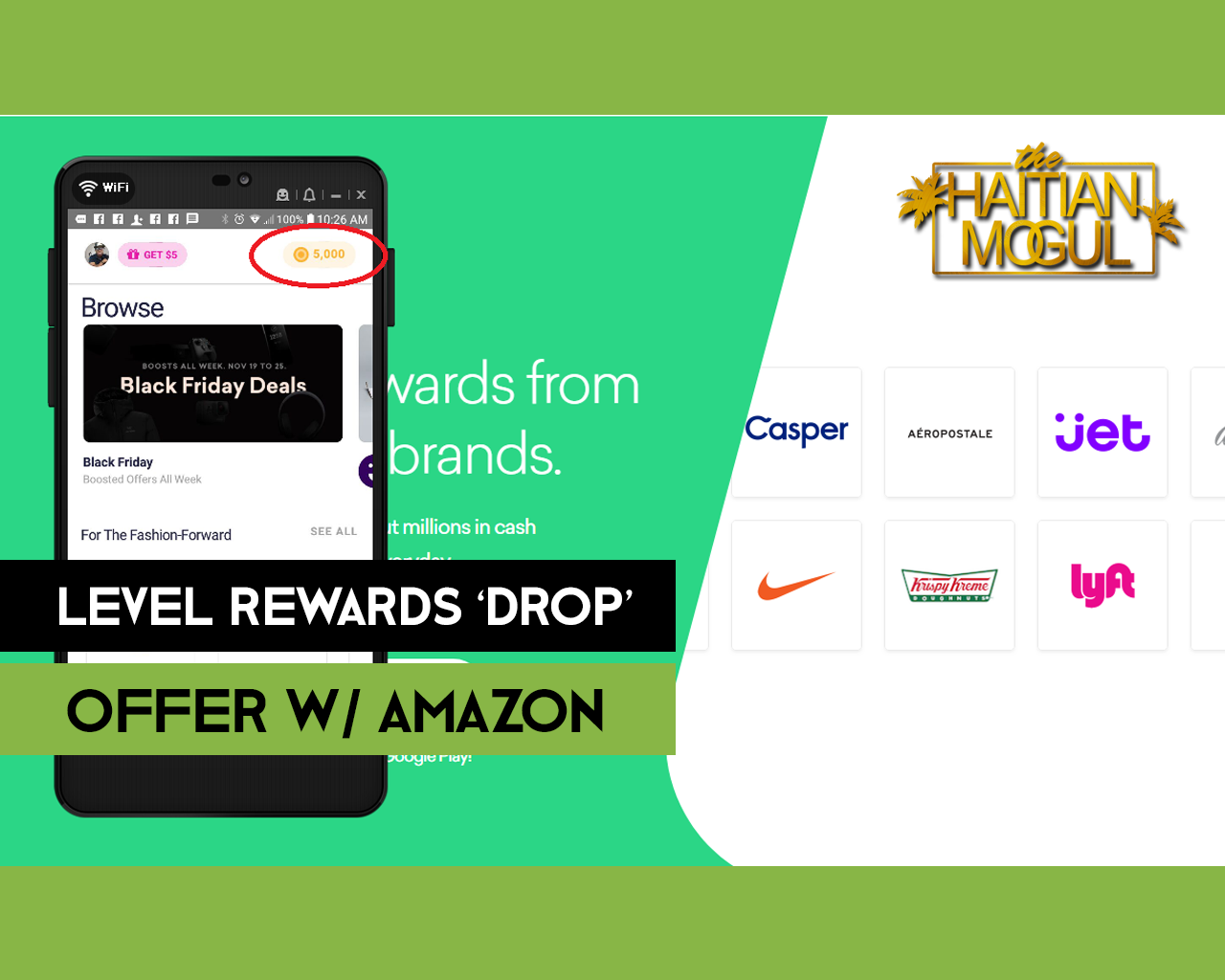 Level Rewards Drop Offer - Free Amazon Credits thumb